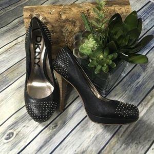 DKNYc Studded Black Pumps Style: Odetta